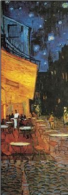 Posters Reprodukce Vincent van Gogh - Terasa kavárny v noci