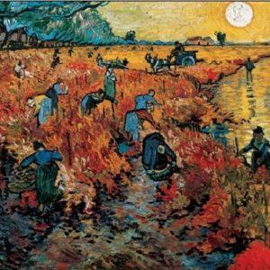Posters Reprodukce Vincent van Gogh - Červené vinice u Arles