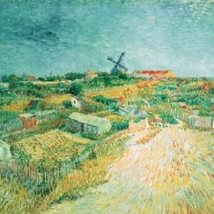 Posters Reprodukce Vincent van Gogh - Zeleninové zahrady v Montmartre