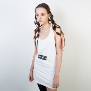 Tričko Logo tee Marshal Apparel 1932 Box Girl Tank White - Marshal Apparel