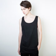 Tričko Jednobarevná Marshal Apparel Ma Box Tanktop All Black ltd. - Marshal Apparel