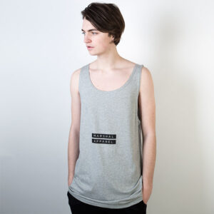 Tričko Logo tee Marshal Apparel Twin Box Tanktop Grey - Marshal Apparel