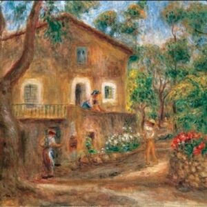 Posters Reprodukce Pierre-Auguste Renoir - The Collette House in Cagnes