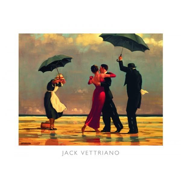 Posters Reprodukce Jack Vettriano - The Singing Butler (Zpívající lokaj)