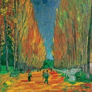 Posters Reprodukce Vincent van Gogh - Les Alyscamps