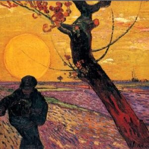 Posters Reprodukce Vincent van Gogh - Rozsévač