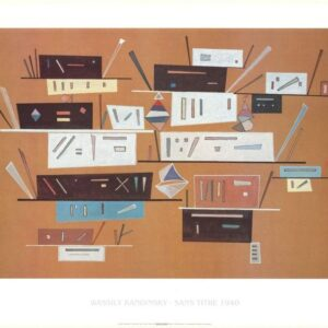 Posters Reprodukce Kandinsky - Kompozice 1940