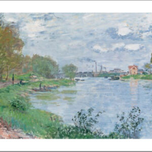 Posters Reprodukce Claude Monet - Na břehu Seiny