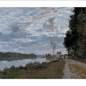 Posters Reprodukce Claude Monet - Promenáda podél Seiny k Argenteuil