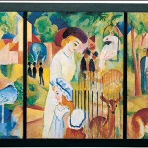 Posters Reprodukce Macke August - Zoologická zahrada