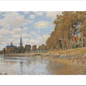 Posters Reprodukce Claude Monet - Zaandam