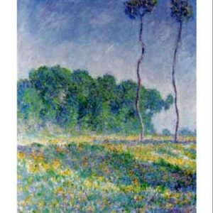 Posters Reprodukce Claude Monet - Jarní krajina u Giverny