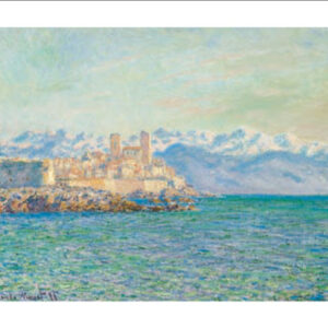 Posters Reprodukce Claude Monet - Stará pevnost v Antibes - The Old Fort at Antibes