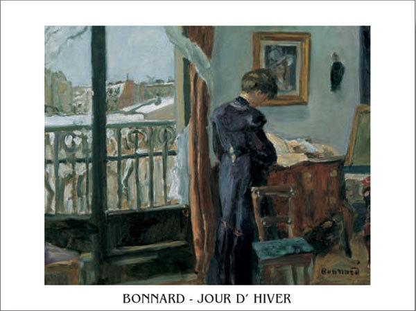 Posters Reprodukce Pierre Bonnard - Jour d'hiver