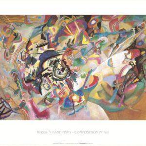 Posters Reprodukce Kandinsky - Kompozice 1919