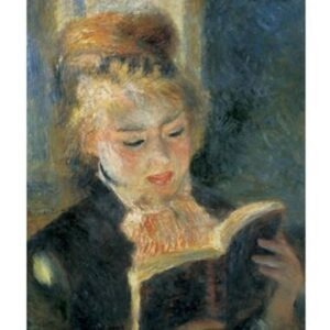 Posters Reprodukce Pierre-Auguste Renoir - Čtenářka