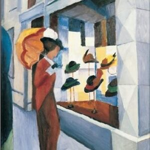 Posters Reprodukce Macke August - Obchod s klobouky
