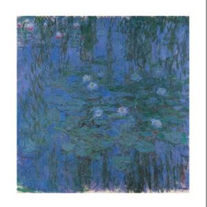 Posters Reprodukce Claude Monet - Modré lekníny