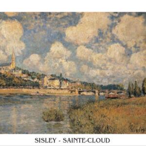 Posters Reprodukce Sisley - Saint-Cloud