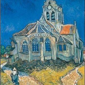 Posters Reprodukce Vincent van Gogh - Kostel v Auvers