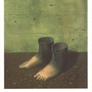Posters Reprodukce René Magritte - Červený model