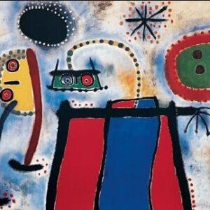 Posters Reprodukce Joan Miró - Obraz - Peinture
