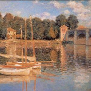 Posters Reprodukce Claude Monet - Most v Argenteuil