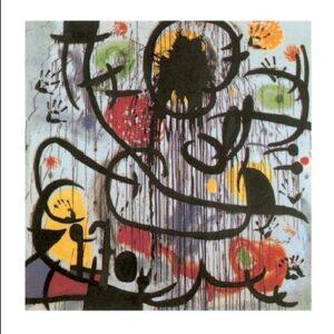Posters Reprodukce Joan Miró - Květen 1968