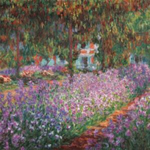 Posters Reprodukce Claude Monet - Monetova zahrada v Giverny