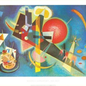 Posters Reprodukce Kandinsky - V modré