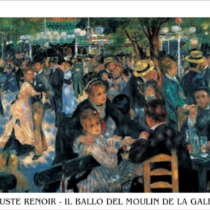 Posters Reprodukce Pierre-Auguste Renoir - Bál v Moulin de la Galette - Bal du moulin de la Galette