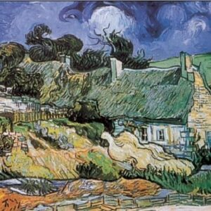 Posters Reprodukce Vincent van Gogh - Chaty