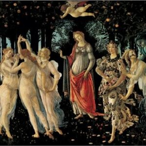 Posters Reprodukce Sandro Botticelli - Primavera - Jaro