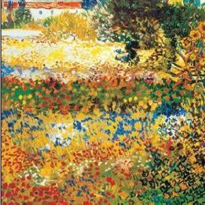 Posters Reprodukce Vincent van Gogh - Kvetoucí zahrada