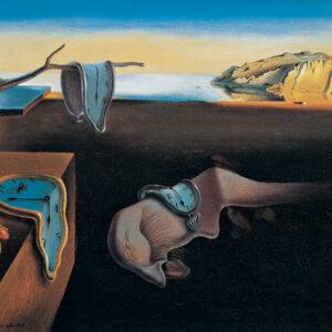 Posters Reprodukce Salvador Dalí - Persistence paměti