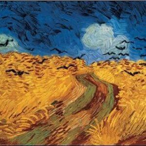 Posters Reprodukce Vincent van Gogh - Havrani nad obilným polem