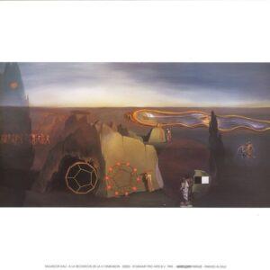 Posters Reprodukce Salvador Dalí - Hledání čtvrté dimenze