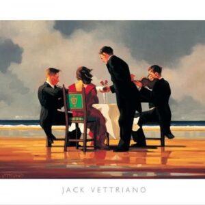 Posters Reprodukce Jack Vettriano - Elegy for a Dead Admiral - Elegie za mrtvého admirála