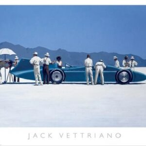 Posters Reprodukce Jack Vettriano - Bluebird at Bonneville