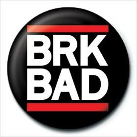 Posters Placka Breaking Bad (Perníkový táta) - BRK BAD - Posters
