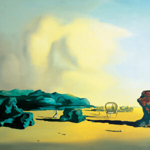 Posters Reprodukce Salvador Dalí - Momento de transition