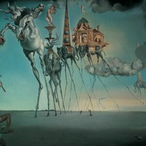 Posters Reprodukce Salvador Dalí - La Tentation De St.Antoine