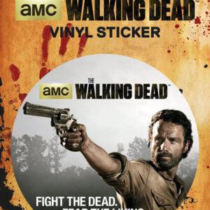 Posters Samolepka The Walking Dead - Rick - Posters