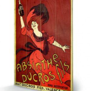 Posters Obraz na dřevě - Absinthe Ducros