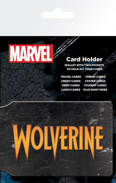Posters Marvel Extreme - Wolverine Pouzdro na karty - Posters