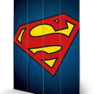 Posters Obraz na dřevě - DC Comics - Superman Symbol