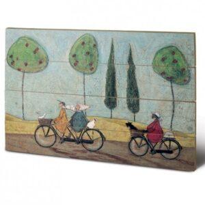 Posters Obraz na dřevě - Sam Toft - A Nice Day For It