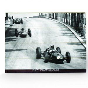Posters Obraz na dřevě - Monaco - New Promenades