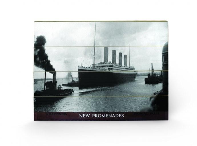 Posters Obraz na dřevě - Titanic - Happiness