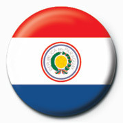 Posters Placka Flag - Paraguay - Posters